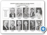 Taylor County Clerks 1848-1974