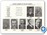 Taylor County Judges 1890-1926