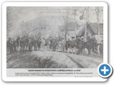 Show Horses in Downtown Campbellsville 1910