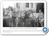 Baby Day, April 26,1941 in front of Dr. and Mrs. Elizabeth Hall Home, Lebanon Aenue